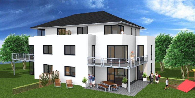 traumhafte neubau wohnung in zentraler lage von bad holzhausen gbsl gut und sicher wohnen. Black Bedroom Furniture Sets. Home Design Ideas
